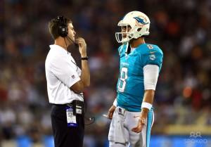 Zac coaching Dolphins