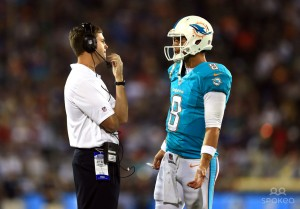 Zac coaching Dolphins