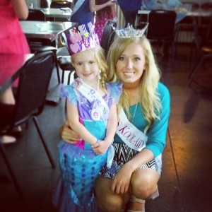 WITH LAYLA AT PRINCESS PARTY
