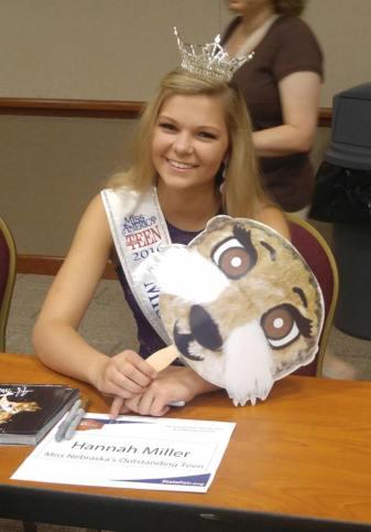 Hannah at state fair