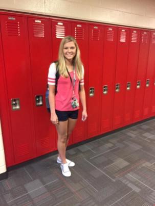 Hannah starting school